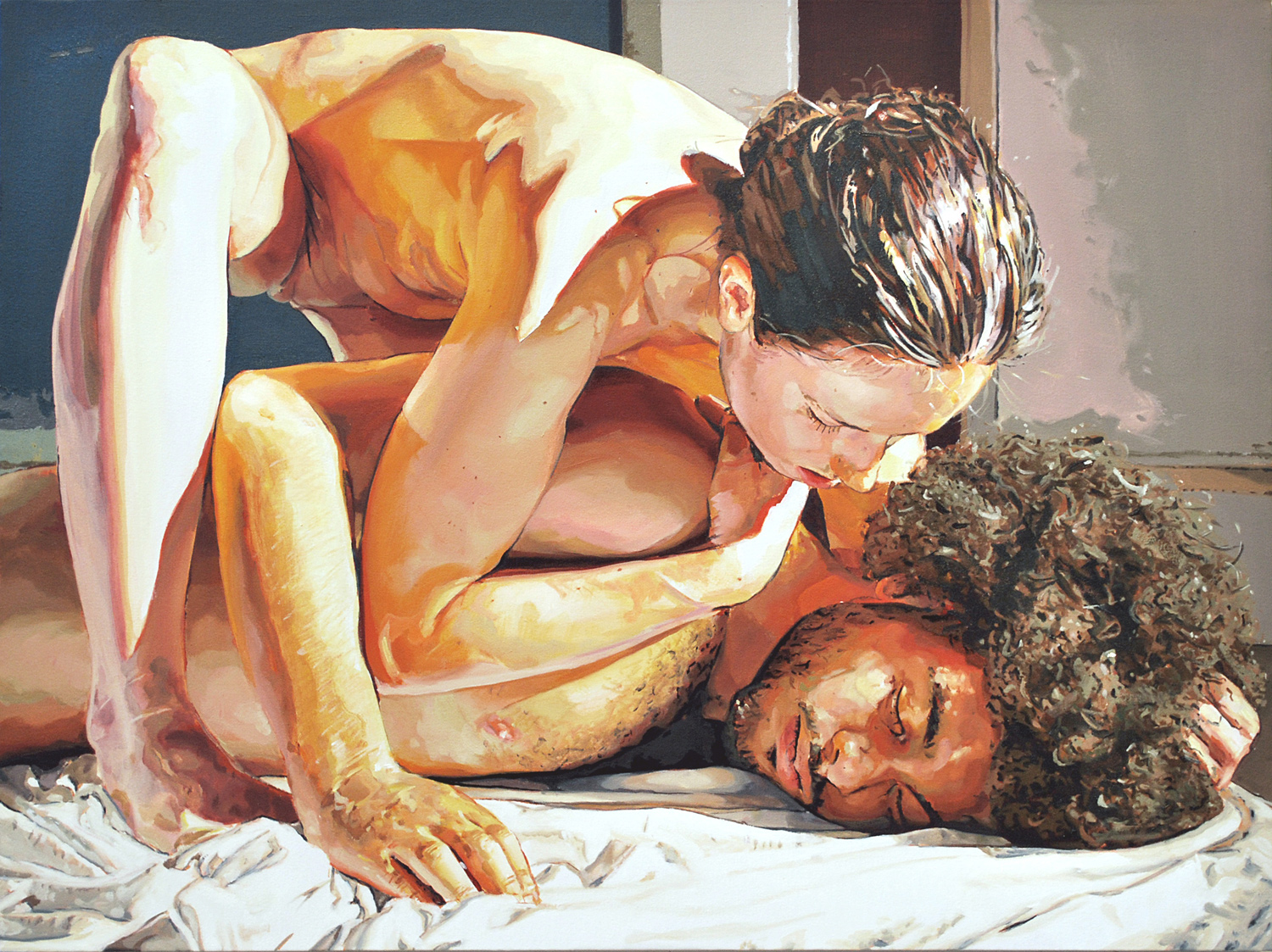 CASE, 2012, oil on linen, 30 x 40 inches (76.2 x 101.6 cm).