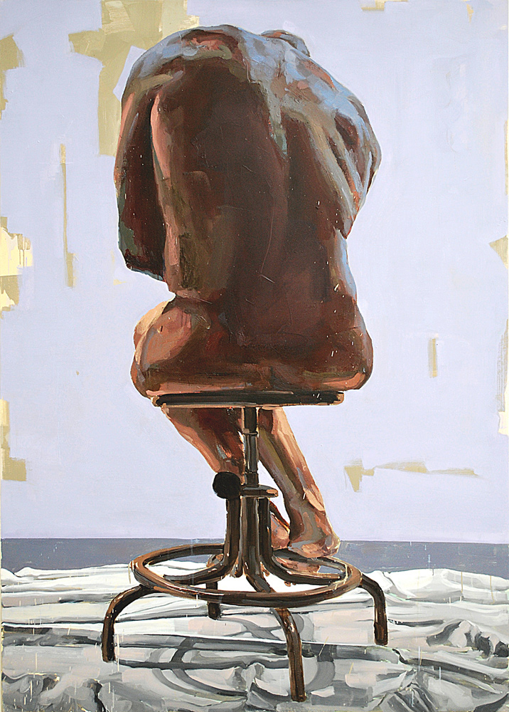 HOMUNCULUS, 2009, oil on canvas, 84 x 60 inches (213.4 x 152.4 cm).