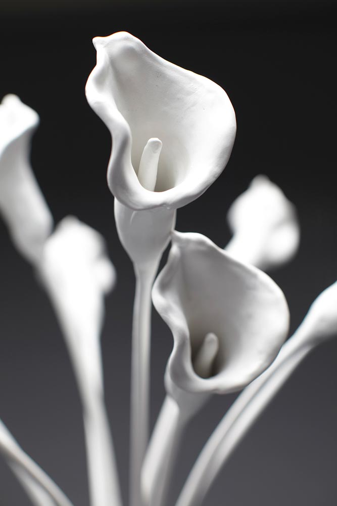 UNTITLED (CALLA LILIES), detail.