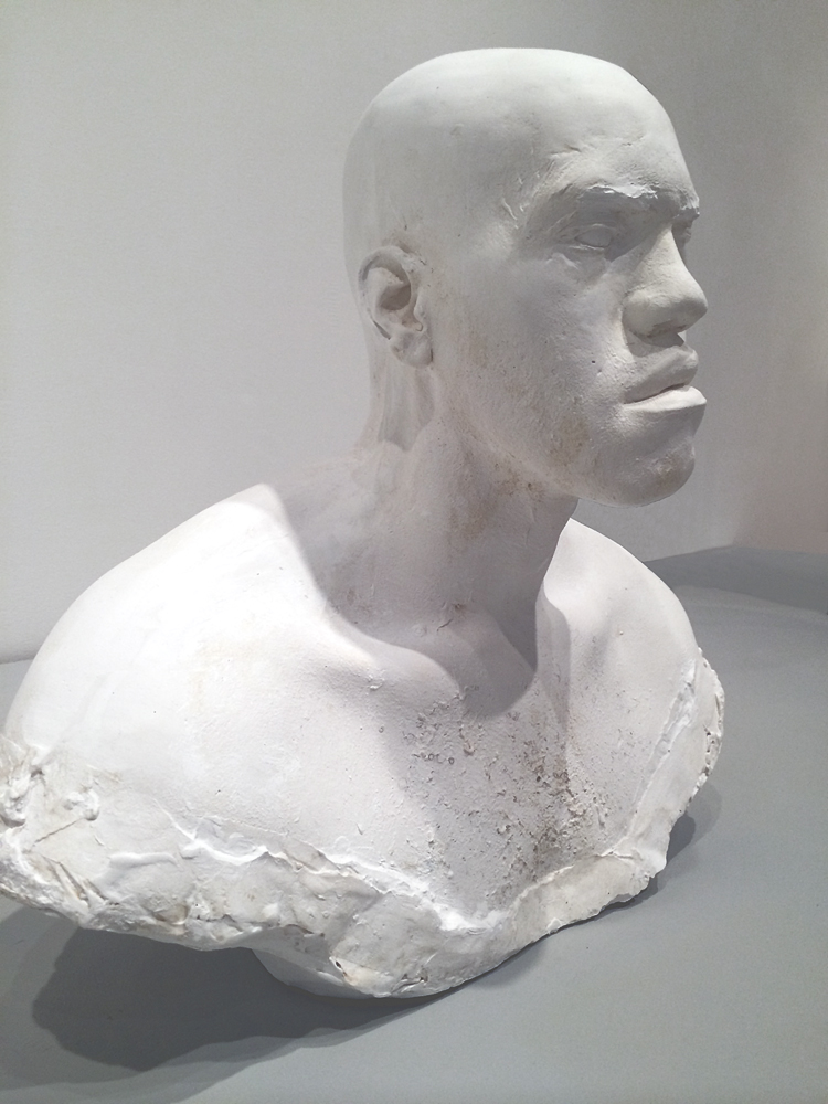 BUST OF AN AMERICAN MAN (EARLY 21ST CENTURY), view 2.