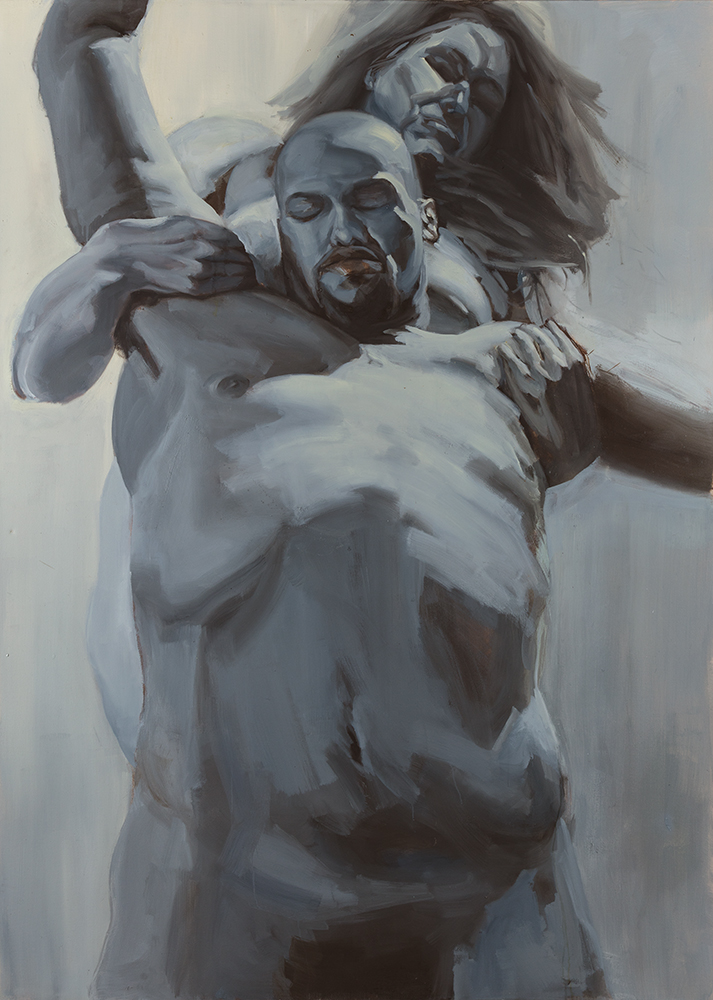 SLIP, 2008, oil on canvas, 84 x 60 inches (213.4 x 152.4 cm).